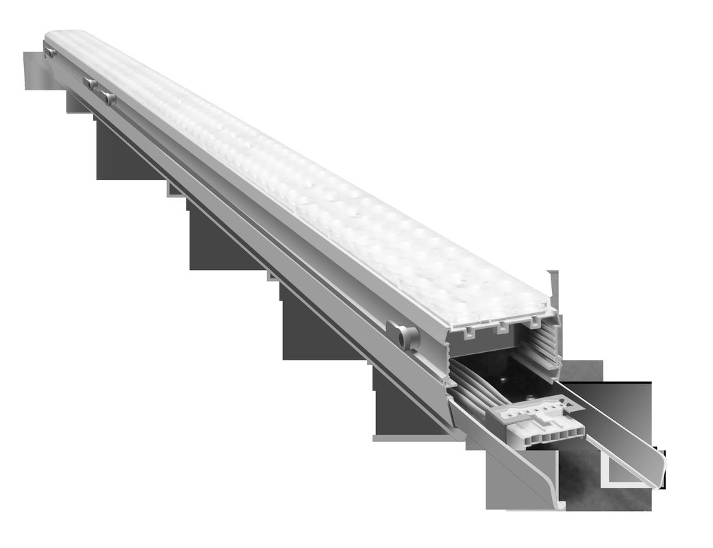 Linkable LED Linear Lamps Trunk System 130LPW 3000K-6500K CCT Dimming Available